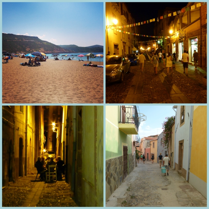 Bosa by day and by night