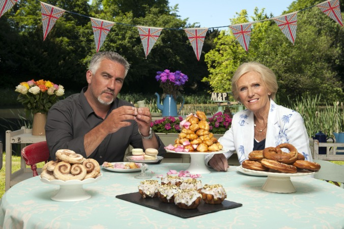 Judges Paul Hollywood and Mary Berry.
