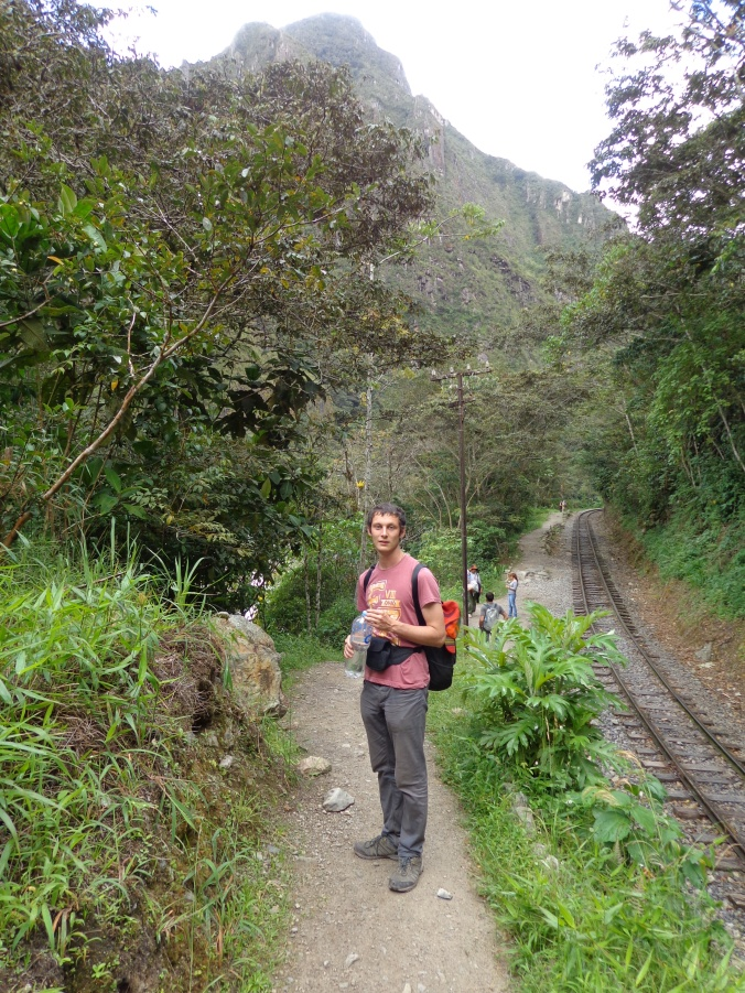 The walk from Hydroelectrico to Aguas Calientes.