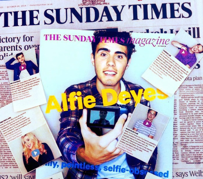 Alfie The Sunday Times