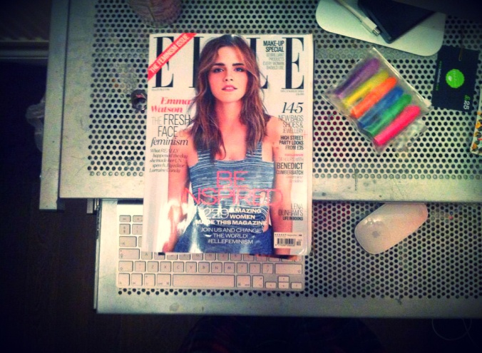 Emma Watson Elle UK Feminism Issue