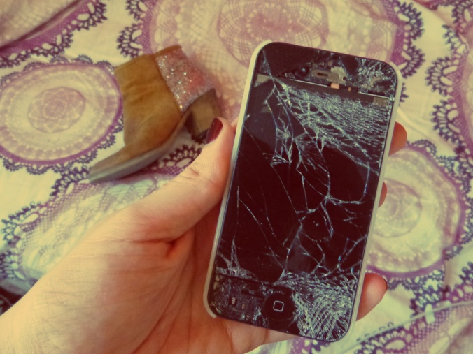 Smashed Iphone4